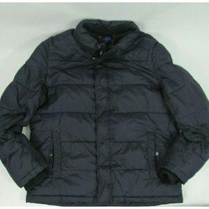 Andrew Marc Men Puffer Winter Bomber Jacket Medium